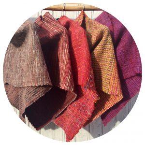 Capettes couleurs chaudes